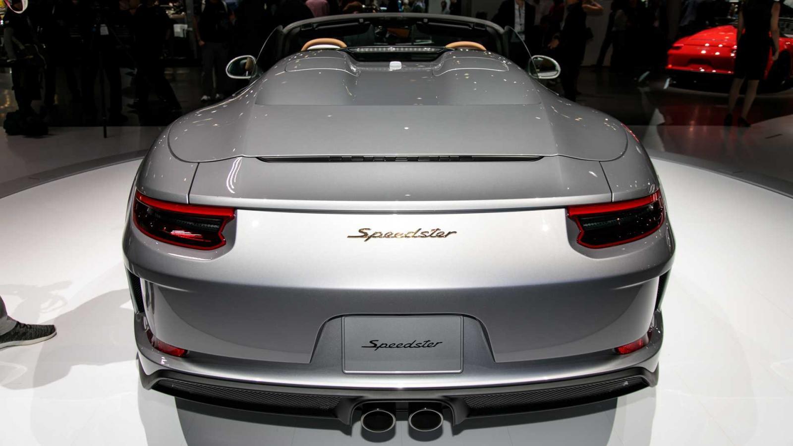 Porsche 911 Speedster 2020 được chốt giá, đắt hơn cả Lamborghini Urus và Huracan - Hình 4