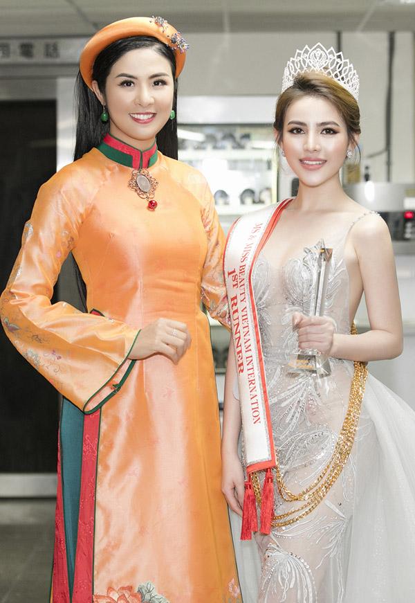 Con gái Hữu Tiến đăng quang Á hậu Sắc đẹp Việt Nam Quốc tế - Hình 8