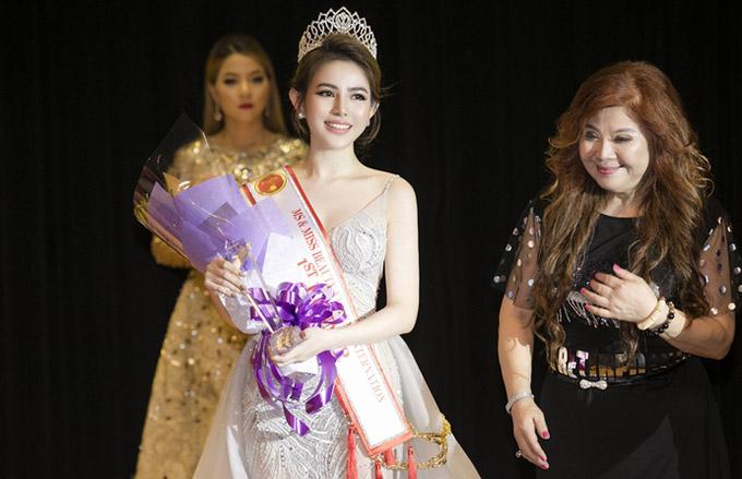 Con gái Hữu Tiến đăng quang Á hậu Sắc đẹp Việt Nam Quốc tế - Hình 7