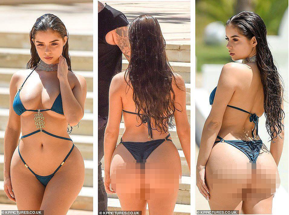 'Siêu vòng ba' nước Anh khoe hình thể đẫy đà với bikini hai mảnh nhỏ xíu - Hình 2