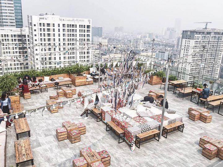 5 địa chỉ thưởng thức cafe tầng thượng, check-in ấn tượng ở Hà Nội - Hình 6