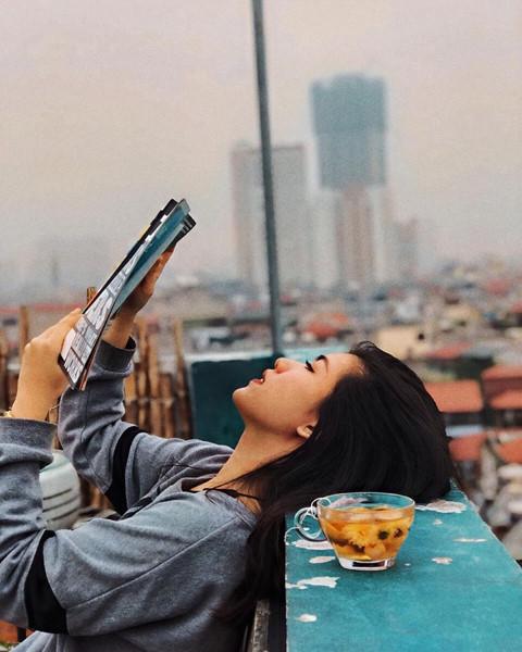 5 địa chỉ thưởng thức cafe tầng thượng, check-in ấn tượng ở Hà Nội - Hình 9