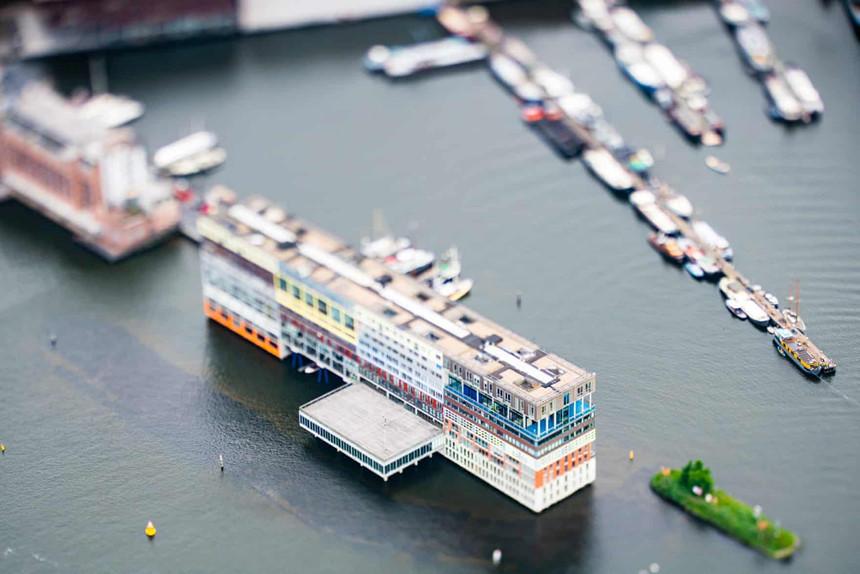 Amsterdam như thành phố đồ chơi dưới ống kính tilt-shift - Hình 3