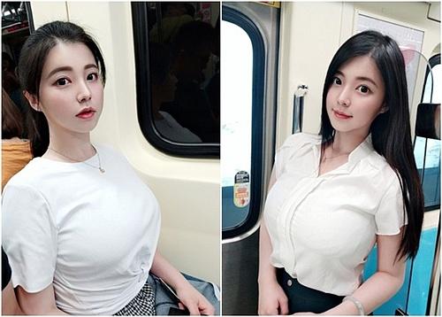 Girl xinh gây sốt vì ngủ gật trên xe bus, nhưng vòng 1 khủng mới là tâm điểm chú ý của dân tình - Hình 7