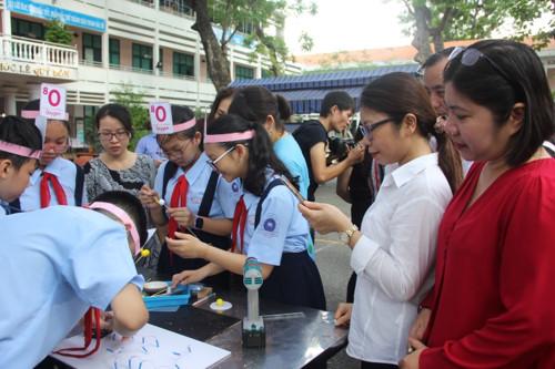 Học sinh hào hứng tiết học với công nghệ 4.0 - Hình 5