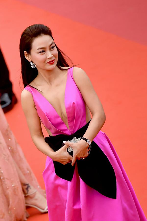 Lưu Đào, Côn Lăng nổi bật trên thảm đỏ Cannes - Hình 11
