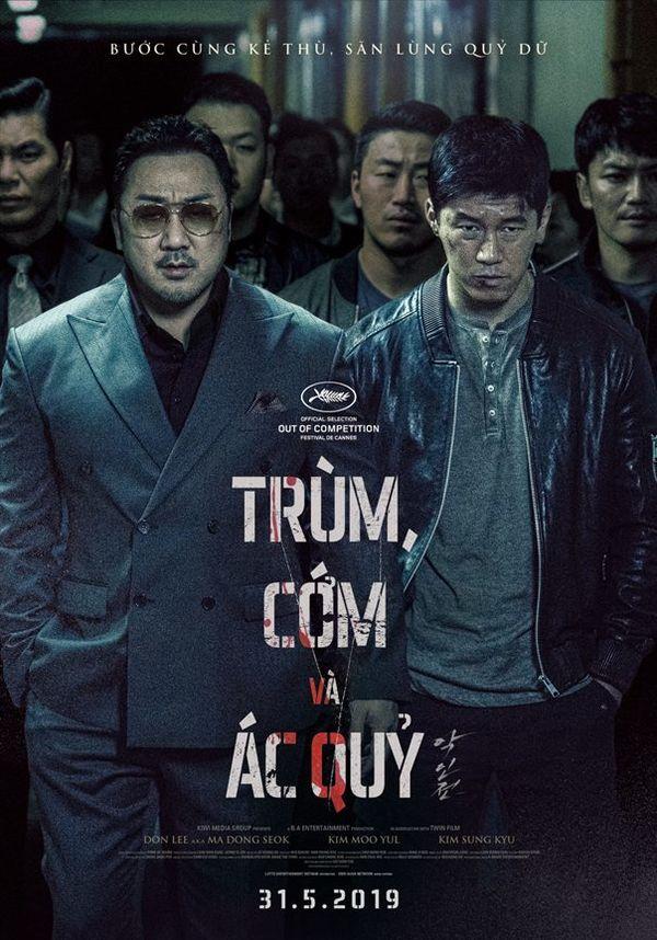 Ông hoàng phòng vé Ma Dong Seok trở lại với vai đầu gấu trong phim mới Trùm, cớm và ác quỷ - Hình 1