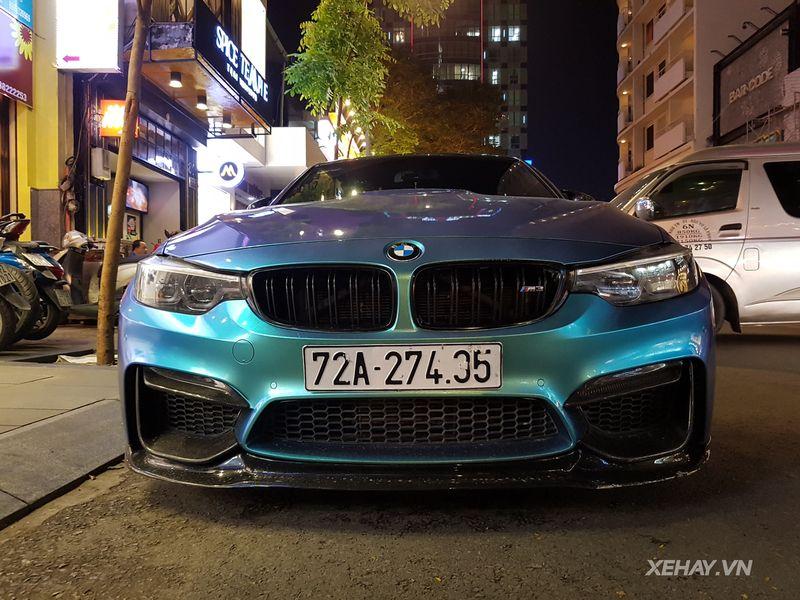 TP.HCM: Bắt gặp BMW M3 với bộ cánh lạ, hiếm, chất dạo đêm trên phố quận Nhất - Hình 1