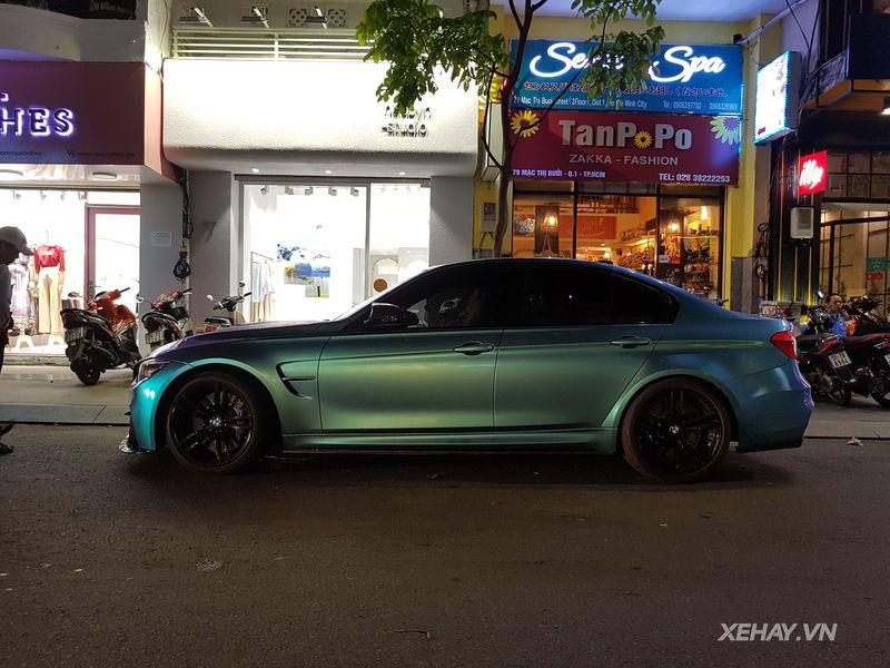 TP.HCM: Bắt gặp BMW M3 với bộ cánh lạ, hiếm, chất dạo đêm trên phố quận Nhất - Hình 4