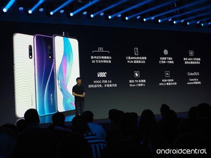 Realme X ra mắt: camera thò thụt, Snapdragon 710, vân tay dưới màn hình, giá từ 175 USD - Hình 3