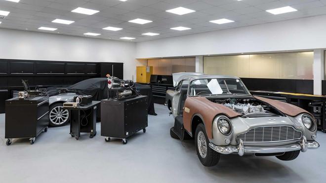 Siêu xe Aston Martin giá 3,5 triệu USD của James Bond bắt đầu sản xuất - Hình 1