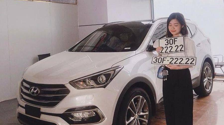 Thêm một chiếc Hyundai Santa Fe mang biển ngũ quý xuất hiện trong làng xe Việt - Hình 2