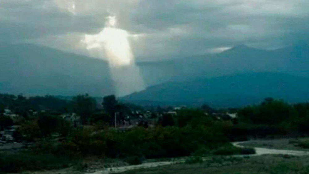 Dân mạng Argentina xôn xao với bức ảnh Chúa Jesus xuất hiện trên trời - Hình 1