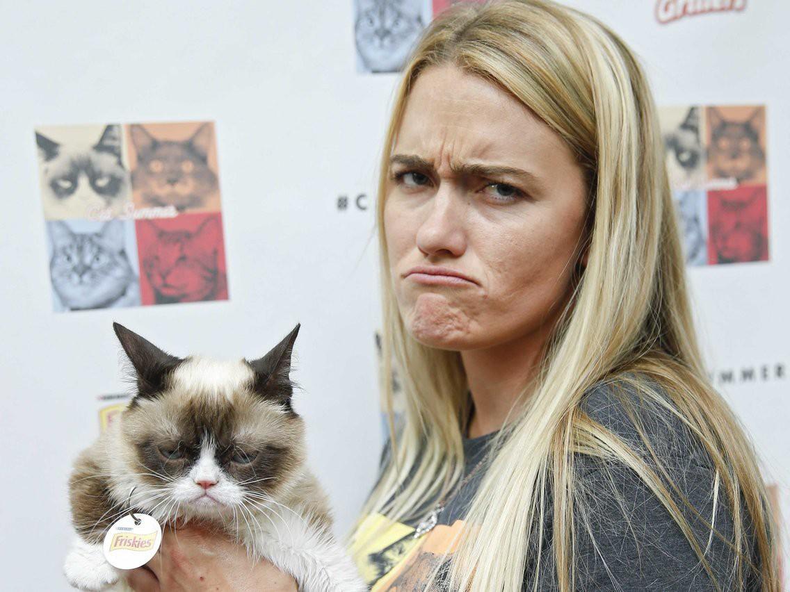 Grumpy Cat - cô mèo cáu kỉnh nhất thế giới với hơn 8 triệu người theo dõi đã qua đời - Hình 7