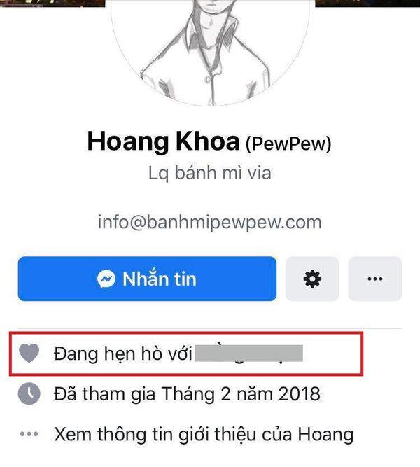 Hot: PewPew thông báo đang hẹn hò, để hẳn relationship cùng một cô gái lạ trên Facebook! - Hình 3