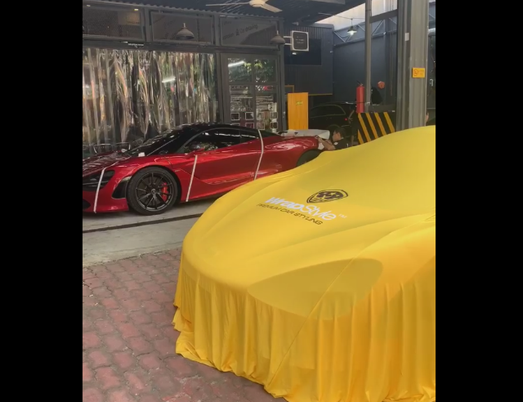 McLaren 720S đi tân trang trước sự kiện Car & Passion 2019 - Hình 1
