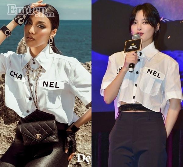 Những lần sao Việt áp đảo cả idol Hàn cùng loạt sao ngoại khi đụng hàng - Hình 1