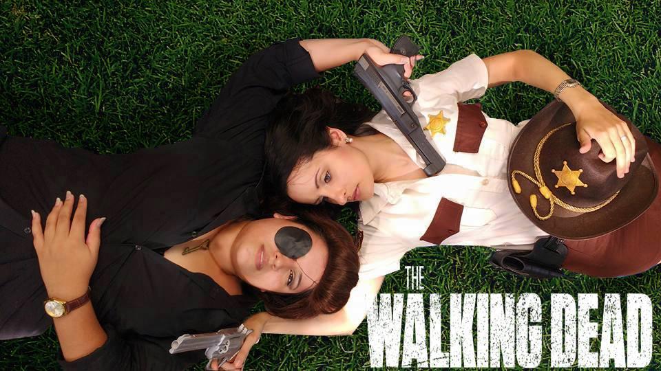 Cosplay Rick Grimes nữ cảnh sát phiên bản mới - Hình 5
