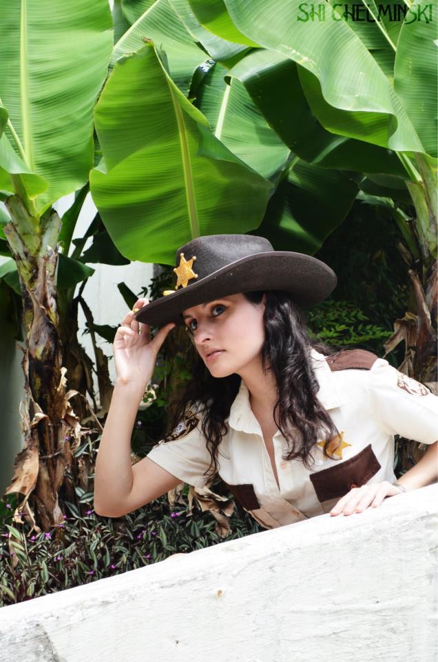 Cosplay Rick Grimes nữ cảnh sát phiên bản mới - Hình 4