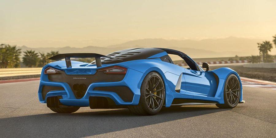 Hennessey có thể sẽ xây dựng phiên bản Roadster của Venom F5 hơn 1.600 mã lực - Hình 3
