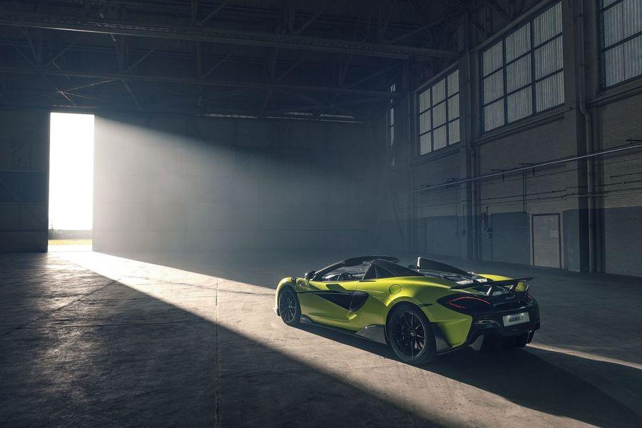 McLaren 600LT Spider phiên bản đặc biệt - Siêu phẩm chào mừng cột mốc 20.000 xe xuất xưởng chính thức ra lò - Hình 5