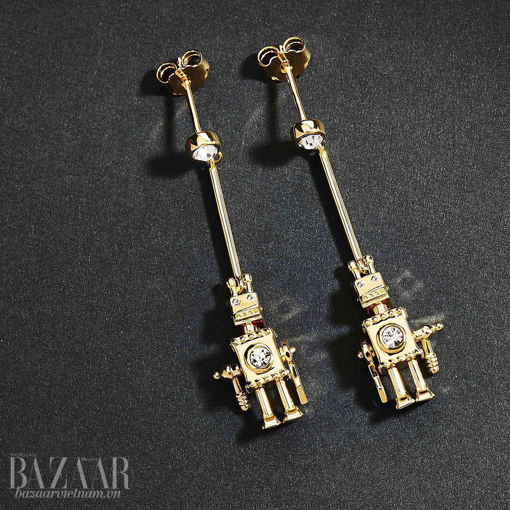 Prada lần đầu tiên tung ra bộ trang sức cao cấp bằng vàng thật - Hình 12