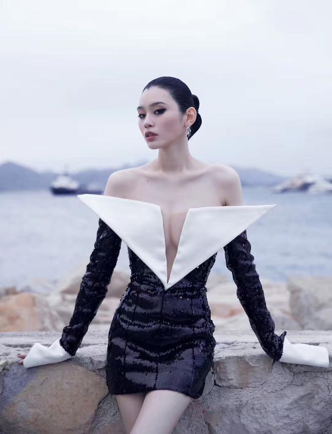 Sự kiện bên lề Cannes: Ming Xi - Sui He cạnh tranh sắc vóc khốc liệt, Lưu Đào - Quan Hiểu Đồng chẳng chịu lép vế - Hình 3