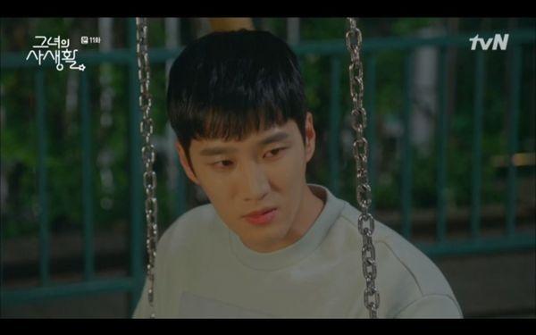 Tập 11 Her private life: Park Min Young bị Kim Jae Wook gạ gẫm, hé lộ tuổi thơ bị bỏ rơi của chàng Sư Tử - Hình 9
