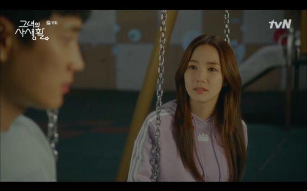 Tập 11 Her private life: Park Min Young bị Kim Jae Wook gạ gẫm, hé lộ tuổi thơ bị bỏ rơi của chàng Sư Tử - Hình 11