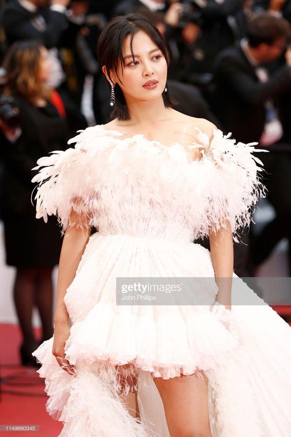 Thảm đỏ Cannes 2019 ngày 4: Sao Thái đọ sắc Hoa ngữ, Chompoo Araya hay Quan Hiểu Đồng nổi bật? - Hình 18