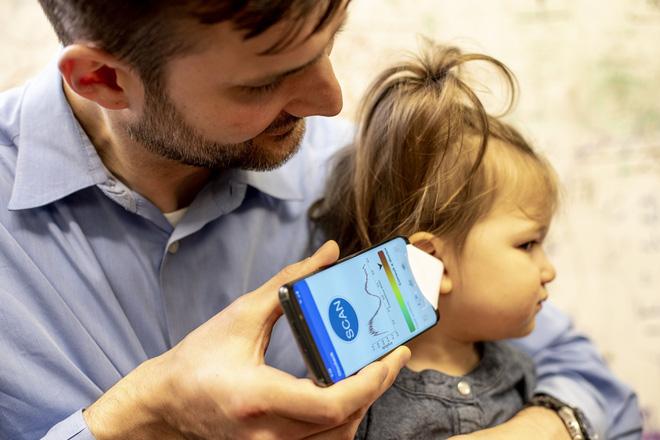 Ứng dụng điện thoại giúp chẩn đoán bệnh viêm tai giữa tại nhà - Hình 2