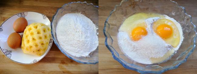 Chẳng cần lò nướng vẫn làm được bánh dứa xốp mềm ngọt thơm ăn vặt mùa hè - Hình 2