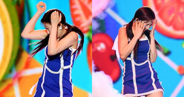 Dream Concert 2019: Fan Red Velvet lo lắng khi thành viên Joy tiếp tục hoảng sợ trước hiệu ứng pháo hoa khi đang biểu diễn - Hình 1