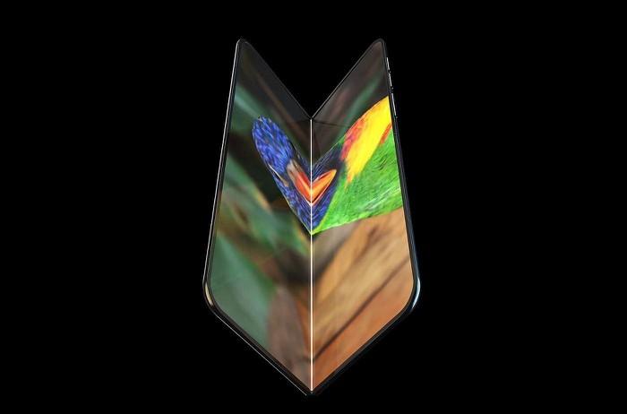 iPhone gập sẽ có thiết kế tương tự Galaxy Fold ? - Hình 1