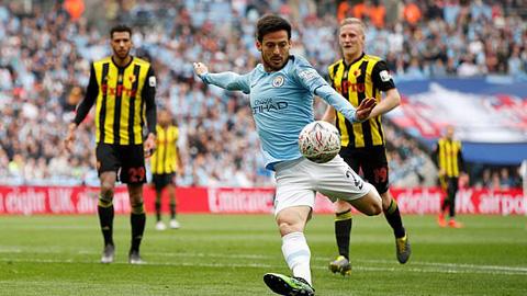 Man City 6-0 Watford: The Citizens hoàn tất hat-trick danh hiệu quốc nội - Hình 3