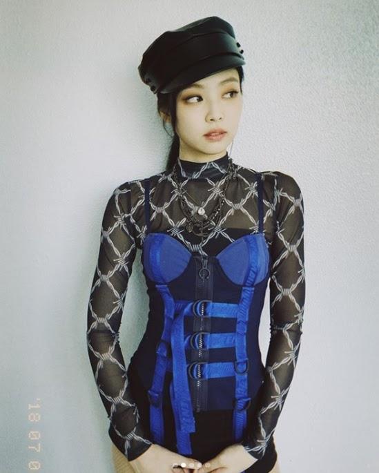 Muôn kiểu lên đồ vừa đẹp vừa sang khiến bao người thèm khát như Jennie (BlackPink) - Hình 3