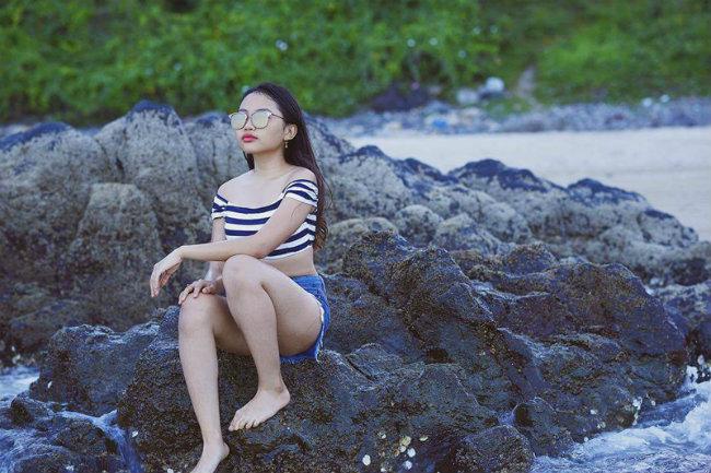 Phương Mỹ Chi, Quang Anh gây ngỡ ngàng với phong cách thời trang người lớn - Hình 2