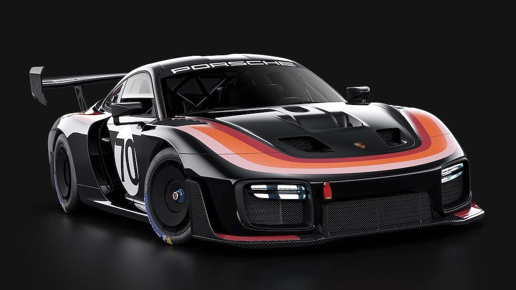 Porsche vinh danh lịch sử xe đua bằng tem đấu trên 935 Clubsport - Hình 21