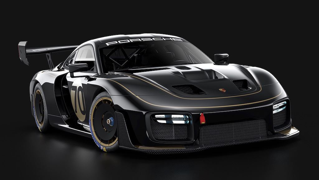 Porsche vinh danh lịch sử xe đua bằng tem đấu trên 935 Clubsport - Hình 15