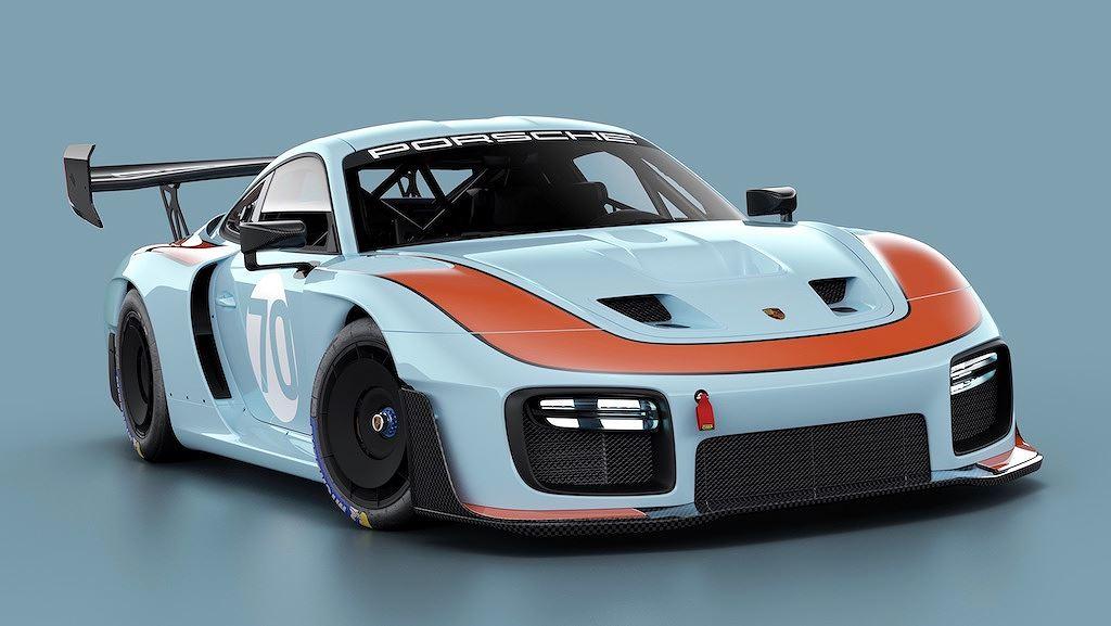 Porsche vinh danh lịch sử xe đua bằng tem đấu trên 935 Clubsport - Hình 3