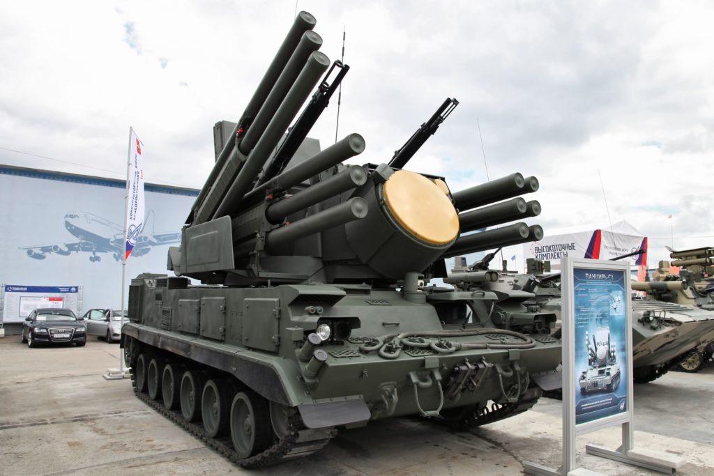 Quân sự thế giới : Sự lợi hại của vũ khí vạn năng- tổ hợp Pantsir - Hình 1