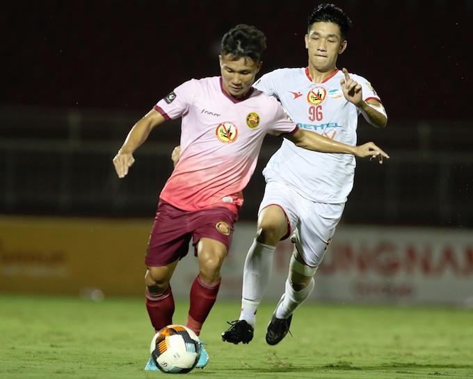 Sài Gòn FC chỉ mất 1 hiệp đấu để vùi dập tân binh Viettel - Hình 2