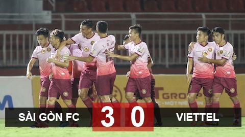 Sài Gòn FC chỉ mất 1 hiệp đấu để vùi dập tân binh Viettel - Hình 1