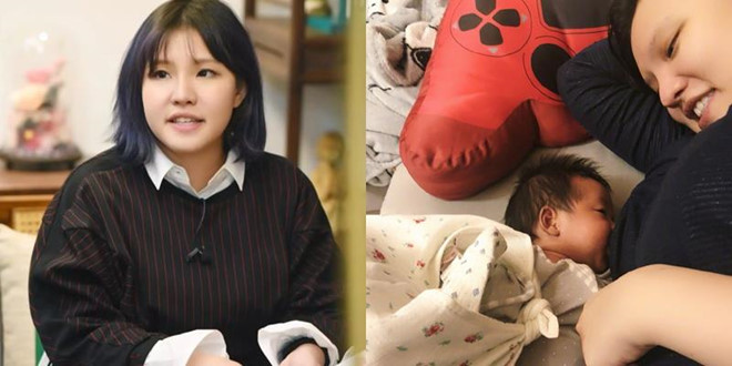Sao Hoa ngữ khổ sở vì bệnh tật và trầm cảm sau khi sinh con - Hình 4