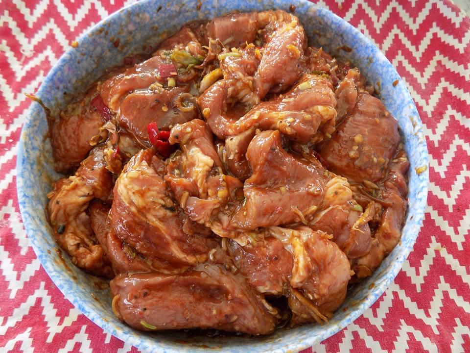 Thơm lừng thịt nướng chao đổi gió cho bữa cơm gia đình cuối tuần - Hình 4