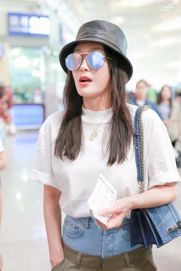 Chất chơi như Phú Sát Hoàng hậu Tần Lam: Mặc quần 2 cạp khiến fan trố mắt - Hình 2