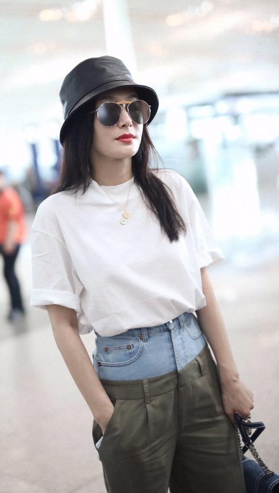 Chất chơi như Phú Sát Hoàng hậu Tần Lam: Mặc quần 2 cạp khiến fan trố mắt - Hình 6