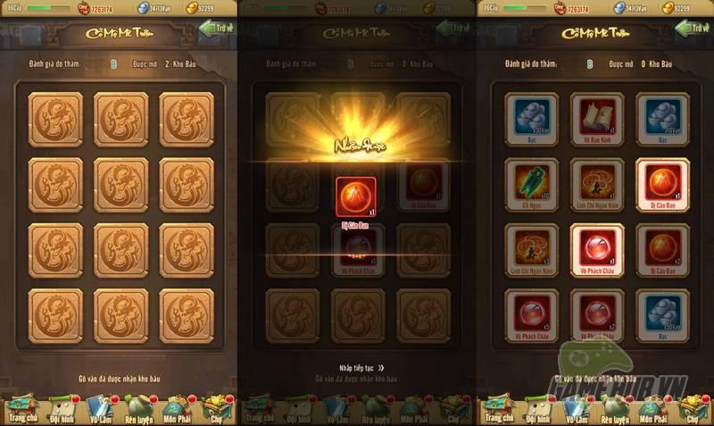 Game thủ Tân Chưởng Môn VNG choáng ngợp với tính năng mới Cổ Mộ Mê Trận - Hình 5