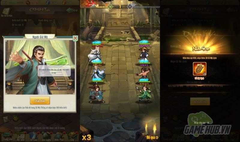 Game thủ Tân Chưởng Môn VNG choáng ngợp với tính năng mới Cổ Mộ Mê Trận - Hình 1