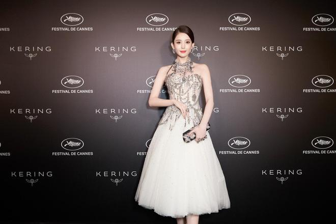 Mỹ nhân bị nhầm với Ngọc Trinh: Nàng công chúa Hoa ngữ đẹp ná thở tại Cannes bất chấp ảnh không photoshop - Hình 18